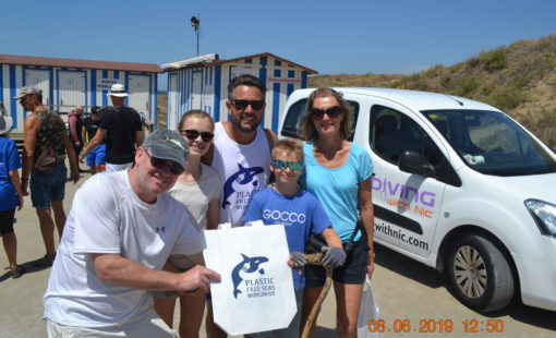 Beach Clean Cabopino 8th June